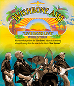 Classic Rock Legends Wishbone Ash to feature 'Live Dates' on South African Barnyard Theatre Tour.